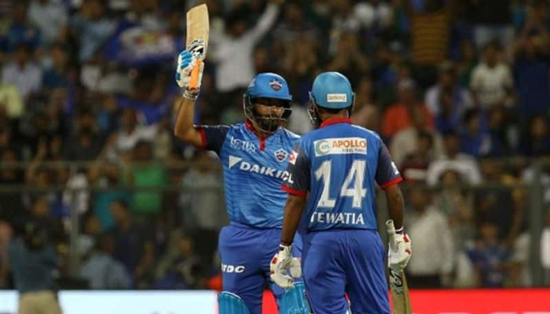Pant needed just 18 balls to bring up his half century. The No 5  batsman ensured that Delhi had a 200-plus score. The visitors posted 2136 in 20 overs