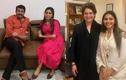 Sapna with cong and BJP