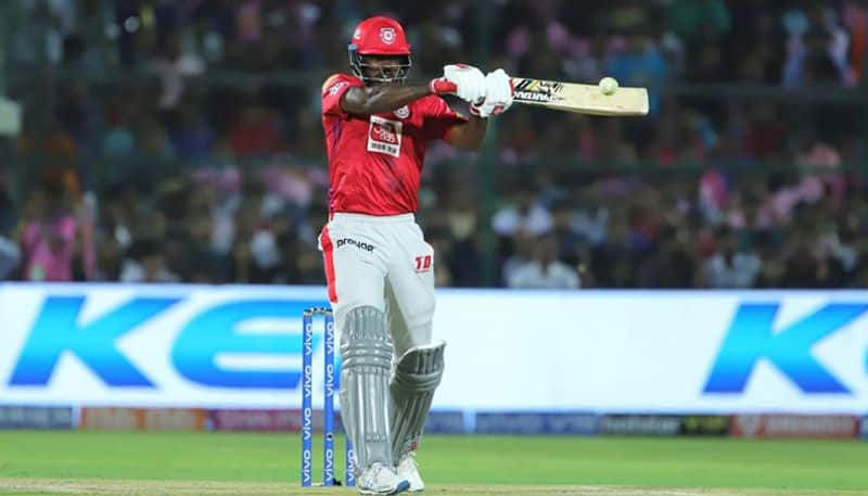Chris Gayle hit a belligerent half century as Kings XI Punjab (KXIP) registered a convincing 14-run win over Rajasthan Royals (RR) in a controversial Indian Premier League (IPL) 2019 match in Jaipur on Monday