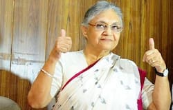 After alliance with AAP, the Congress split into two parts, Sheila Dikshit convened a press conference evening today