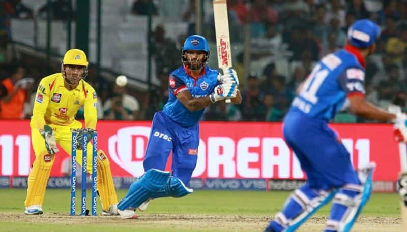 Shikhar Dhawan's painstaking half-century was the only silver lining in DC's sub-par total of 1476 which the defending champions overtook with two balls to spare. Dwayne Bravo took three wickets.