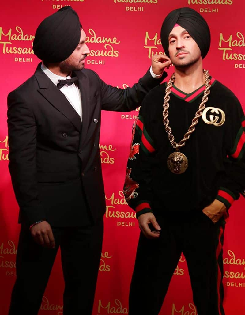 Actor and singer Diljit Dosanjh is the latest celebrity to have his wax statue at the famous Madame Tussauds Wax Museum in Delhi.  It is the first turbaned statue at the museum.