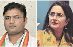 Kiran Chaudhary claimed for the post of leader opposition in Haryana, party divided in two part