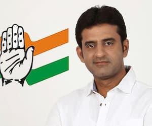 Congress Muslim candidate Rizwan Arshad temple-mutt run fearling loss
