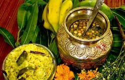 Ugadi is one of the most important festivals in Karnataka as it marks the beginning of the new Hindu calendar.  On the occasion of Ugadi, families in Karnataka prepare a simple yet auspicious dish, known as Bevu-Bella. It is made using six ingredients - signifying the various tastes of life and also that of human emotions.