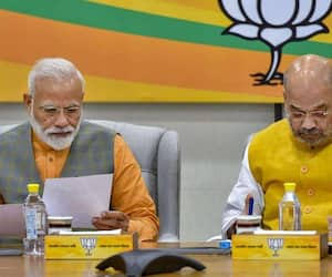 Nationalism National security Hindutva and development are the key points of BJP Menifesto