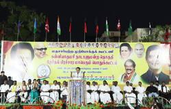 stalin speech in nagarcoil