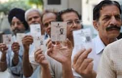 First voting started in different area of the country, voting going on