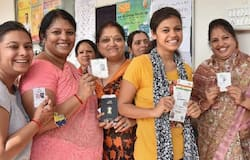 First phase election underway in country, see through photograph