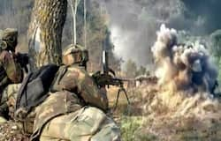 Pakistani army again violated ceasefire in border
