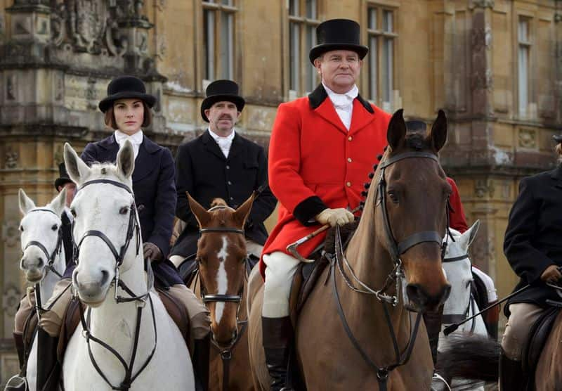 Downton Abbey (2010): The British drama series had an interesting excerpt about the tragedy.  Shrimpie: Amritsar was a very unfortunate incident, ordered by a foolish man. Lord Sinderby: I can't agree. General Dyer was just doing his duty. Shrimpie: You haven't got that quite right. Lord Sinderby: I suppose we're entitled to our own opinion. Lord Grantham: Are we? I hesitate to remind you that Shrimpie knows India and you don't.