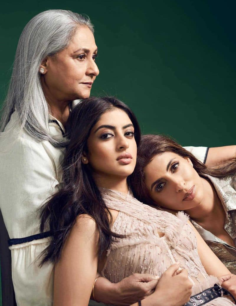 The Bachchan family will be represented at the polling booth by Navya Naveli Nanda, Amitabh Bachchan's granddaughter. She is 22.