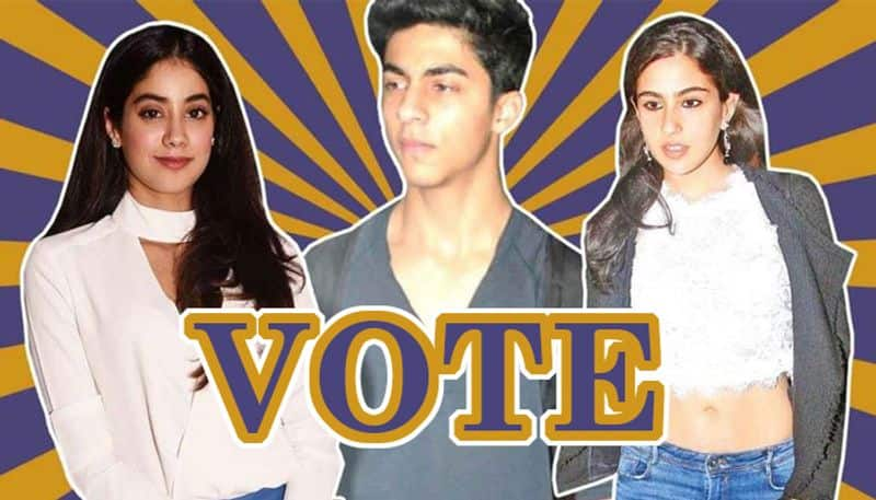 Lok Sabha elections 2019 are in full swing and many first-time voters are gearing to head to the polling booth. Check out these Bollywood star kids who will also be voting for the first time as polling kicks off in Mumbai on April 29.