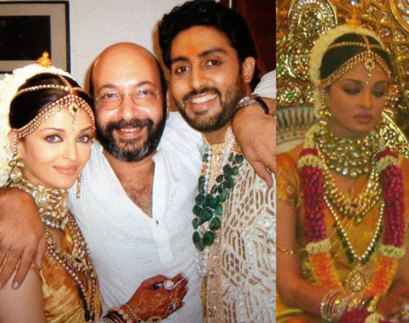 Aishwarya Rai and Abhishek Bachchan celebrate their 12th anniversary together and to celebrate with them, we bring you their 13wedding pictures.