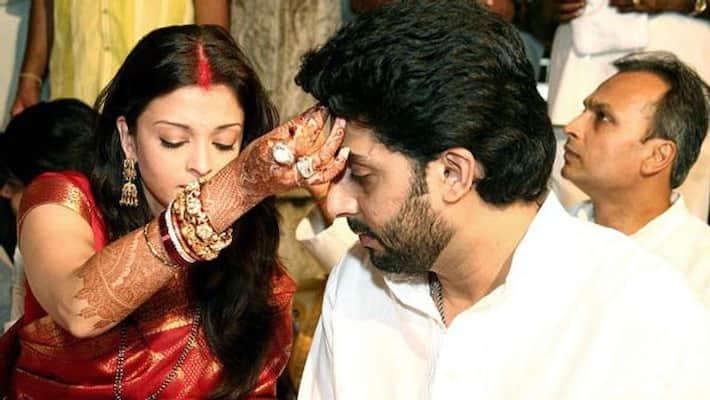 Image result for Aishwarya Rai and Abhishek Bachchan wedding
