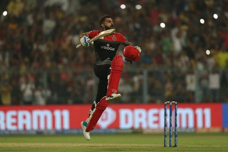 Virat Kohli was named Man of the Match after he scored his fifth IPL century off 58 balls to help Bangalore register 213 on the scoreboard.