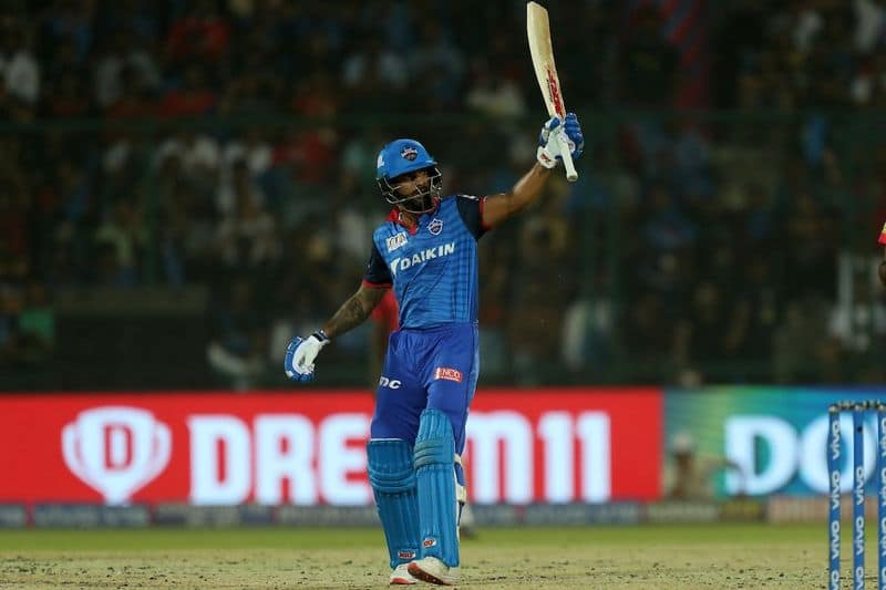 Chasing 164 for a win, opener Shikhar Dhawan set the tune with 56 of 41 balls at top of the order.