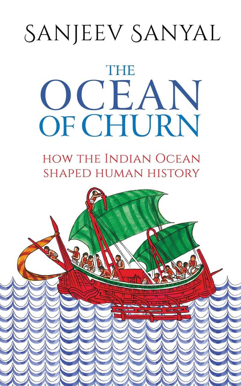 The Ocean of Churn by Sanjeev Sanyal: This offers a brilliant ocean-side view of history. It tells the story of how an extremely prosperous maritime world order and a vibrant shared culture had spawned around the India Ocean. Sanyal covers the expanse from Africa to Java and beyond and explores fascinating aspects of trade, social exchanges and customs. A delightful departure from land-bound accounts of history.