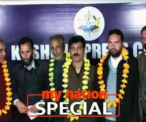 Driving wedge in pro-separatist politics in Kashmir, JKAF rejects Articles 370, 35A