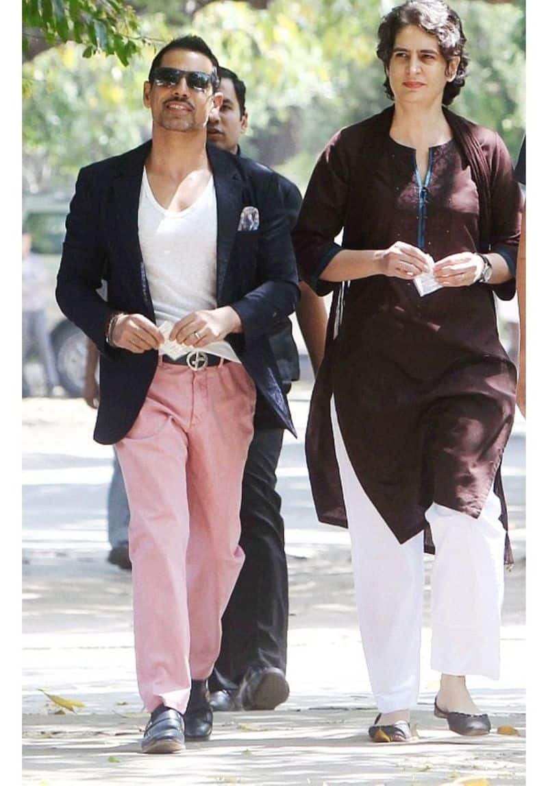 Robert Vadra's voting outfit for the Lok Sabha elections 2014 made headlines. Many clamoured for the fashion police to take notice of it, all courtesy the pink pants.