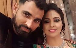 Shami wife arrest