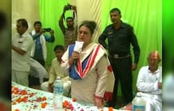 Shruti choudhary complained about ajay chautala election commission
