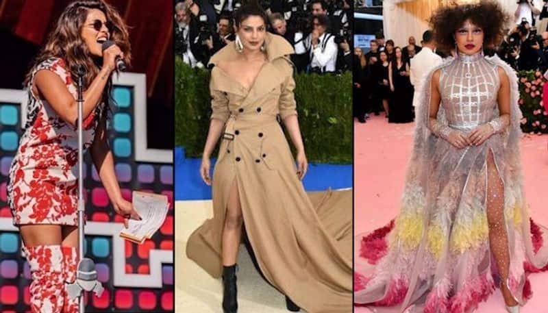 प्रियंका चोपड़ा एक बार पहले भी रेड कार्पेट पर अपनी लंबी ड्रेस की वजह से ट्रोल की जा चुकी हैं। उन्होंने साल 2017 में मेट गाला की सबसे लंबी ड्रेस पहनकर रिकॉर्ड ही बना दिया था। वह डिजाइनर राल्फ लॉरेन के डिजाइनर ट्रेंच कोट गाउन में थीं। उनका यह गाउन दुनिया के सबसे लंबे गाउन के तौर पर दर्ज किया गया था।