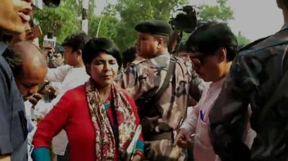 bjp candidate former ips Bharati ghosh moves sc for stay arrest warrant bsm