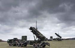 America Patriot anti missile system