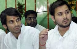 finally, Tej pratap get space on tejashwi Yadav helicopter, both brother started election campaign in bihar