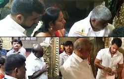 Deve Gowda family temple run