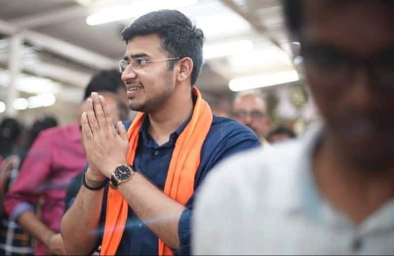 A newcomer Tejasvi Surya of BJP won against Congress' BK Hariprasad.