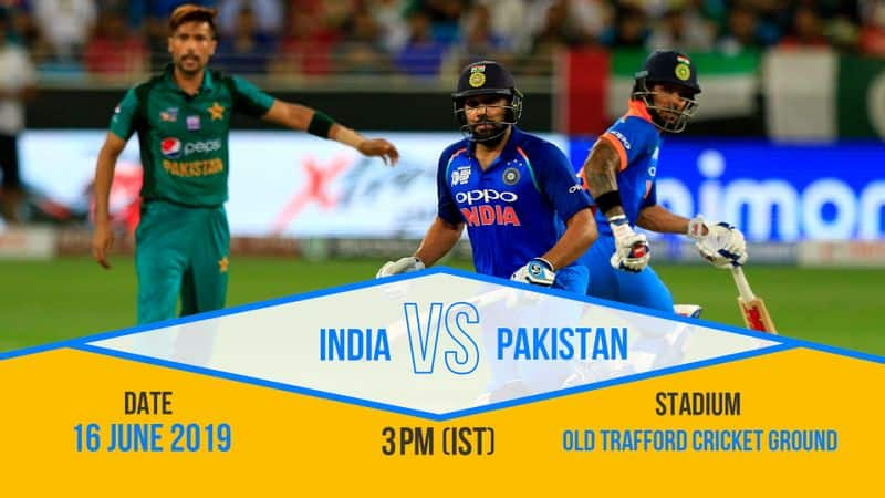 What is a World Cup without an India-Pakistan clash? Yes, once again we will have arch rivals facing off. This is the biggest and most-awaited match of the tournament. Old Trafford stadium will be full on June 16. It is a Super Sunday for cricket fans.