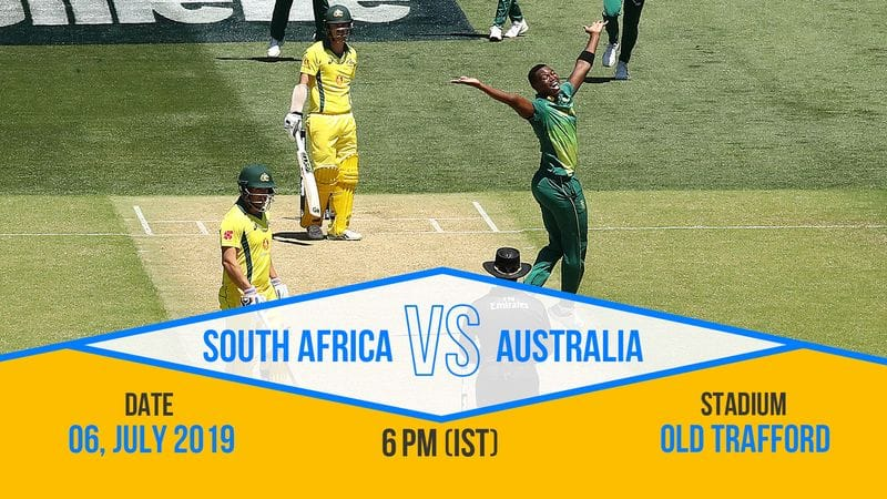 Australia and South Africa rivalry will be resumed at the World Cup. They have had some great contests in the past. Fans are eagerly awaiting this.