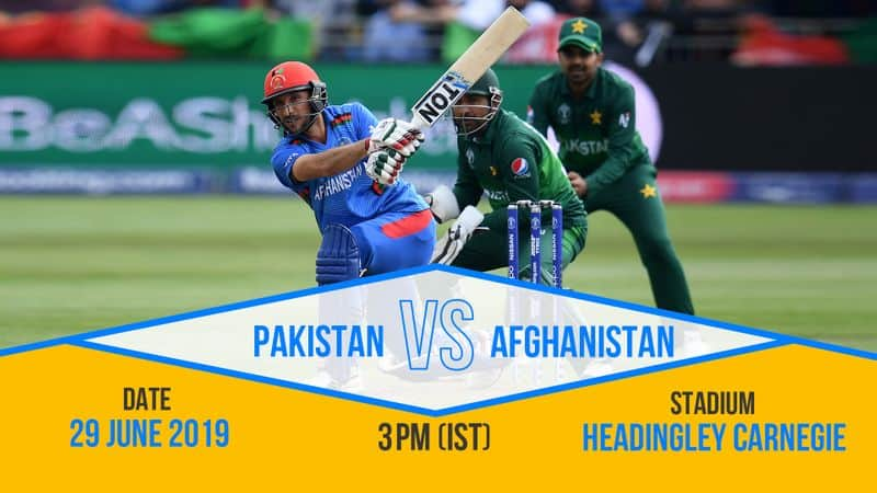 Afghanistan can cause an upset and they will be aiming to scalp Pakistan.