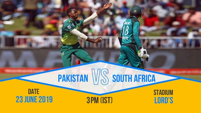 It will be a battle between fast bowlers as South Africa and Pakistan face off.