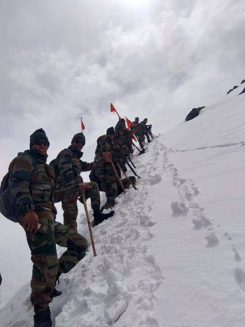 Dedicated Indian Army teams have started working to make the Hemkund Sahib Gurudwara accessible for devotees by June 1. Hemkund Sahib, which is a revered Sikh Gurudwara, is situated at a height of 3,000 feet in Uttarakhand's Chamoli district.