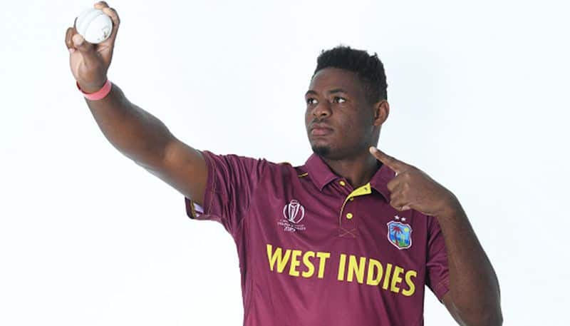 Oshane Thomas is another young fast bowler. The 22-year-old West Indian had demolished England in March with a five-wicket haul. The English batting collapsed for just 113.
