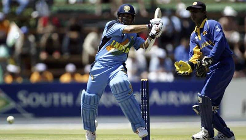 2003 World Cup: Tendulkar — 673 runs (11 matches). Tendulkar became the first batsman to top the batting charts in two editions of the World Cup. Earlier, he had achieved the feat in 1996