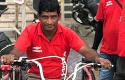 zomato delivery boy disabled