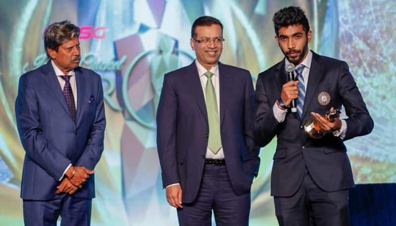 Cricketer of the Year – Jasprit Bumrah