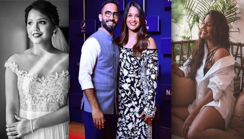 Dipika Pallikal Karthik is the second wife of Indian cricketer Dinesh Karthik. They got married in 2015 after his divorce with his first wife. Dipika Pallikal is an international squash player.