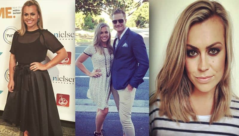 New Zealand cricketer Martin Guptill's wife, Laura McGoldrick is a reporter. They got married in 2014.