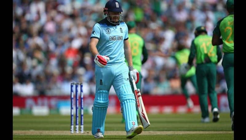 Jonny Bairstow collected the first zero of the tournament and too a golden duck