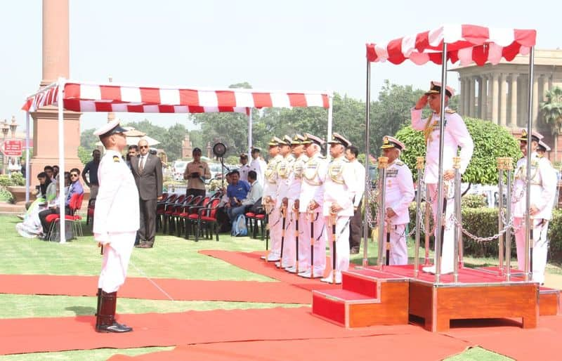 In his career spanning over 39 years, he has commanded Indian Coast Guard Ship Chandbibi, Missile Corvette INS Vijaydurg, as well as two Guided Missile Destroyers, INS Rana and INS Delhi.