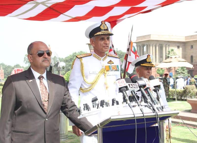 He has also served as the Fleet Operations Officer of the Western Fleet. Ashore, he has served at Naval Headquarters as the Joint Director Naval Air Staff, and as Captain Air and Officer-in-Charge of the Naval Air Station at Mumbai.