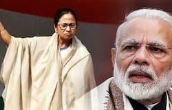 Modi vs Mamtha in Nithi Ayoke meeting