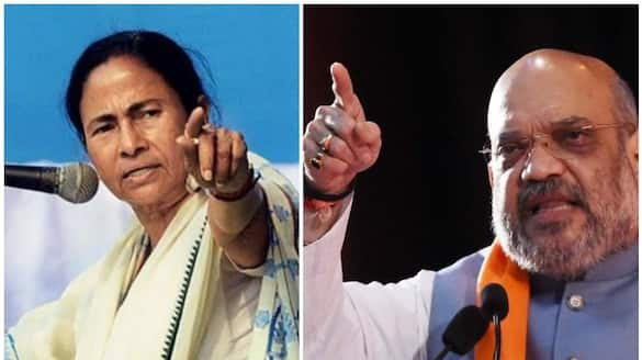 West Bengal election violence Amit Shah Responsible for incident Says Mamata Banerjee ckm