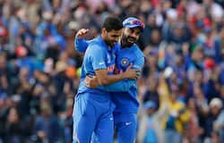 6. Bhuvneshwar Kumar's two wickets in one over proved decision. He first dismissed Steve Smith LBW and added the scalp of Marcus Stoinis two balls later in the 40th over