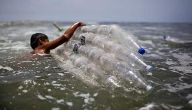 Five million to 13 million metric tons of plastic enter the world's oceans every year.